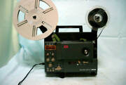 Elmo 8 Mm Gs-800 Movie Projector Vintage Home Video Equipment Fs