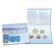 2013 New Zealand Brilliant Unc Coin Set Final Year Issue Only 2000
