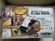 Brother Pc Ql-1050 Wide Format Pc Label Printer