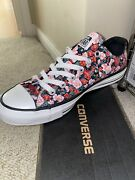 New Converse Chuck Taylor All Star Dark Floral Womenandrsquos Size 8 Rare