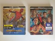 Spider-man Homecoming And Far From Home 4k Blu-ray Steelbook Best Buy Exclusive