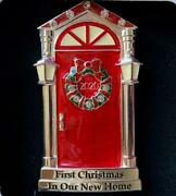 2020 1stfirst Christmas In Our New Home Red Door Ornamenteuropean Crystalsnib