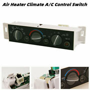 A/c Air Heater Climate Control Switch Fits Chevy Suburban Tahoe Gmc Yukon 96-00