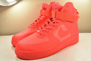 Ds Nike 2011 Air Force 1 Hyperfuse Solar Red 9 Vintage