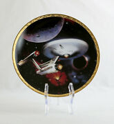 Choose Your Own Lot - Vintage Star Trek Hamilton Collector Plates Tng Ds9 Tos