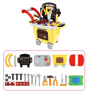 Children Building Repair Tools Trolley Kids Construction Toys For Christmas Gift