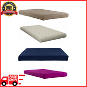 Mattress In A Box Twin Size Mattress 6 Inch Polyester Filled Bed Quilted Cover