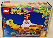 Lego Ideas The Beatles Yellow Submarine 21306 553 Pieces 2016 New Free Shipping