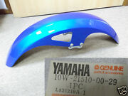 Yamaha Rd125ypvs Rd125lc Rz125 Front Fender Nos New Mud Guard 10w-21510-00-29