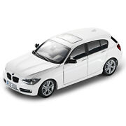Bmw 1 Series 5-door F20 143 Scale Mineral White 80422210024
