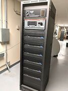 Dolby Digital And Analog Stereo Film Sound System Qsc Smart Rack And Rack-up