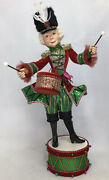 Katherine's Collection Nutcracker Standing On Drum 28-028636 New Christmas 2020