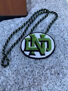 Native American Beaded Und Pow Wow Medallion Necklace