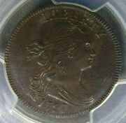1797 Pcgs Xf Det. Draped Bust Large Cent S-140 United States One Penny Liberty