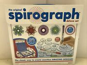 Spirograph Deluxe Set The Original With Storage Case And Built In Work Surface