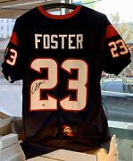 Arian Foster Houston Texans Autographed Nfl Jersey Leaf Coa