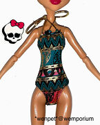 Monster High Doll Clothes Fab Swimsuit Costume Cleo Oasis Spa 13 Wishes