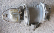 1952 Cadillac Ac Fuel / Vacuum Pump And Glass Bowl Fuel Filter Used 52