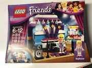 Lego Friends Rehearsal Stage 41004 New In Box