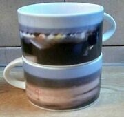 Royal Doulton Fine China British Airways Collectable Club Europe Cup Set Of Two