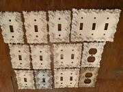 Vintage Charm-n-style Light Switch And Outlet Plate Covers - Lot Of 13 Covers