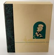 Walt Disney Collectors Society Magazine Clamshell Box W/buttons,cards,fine Arts