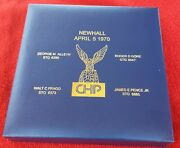 California Highway Patrol Officer Memorial Coin Newhall Incident Lapd Nypd Chp