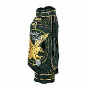 New Winwin Style Caddy Bag Cb-344 Premium Mighty Eagle Cart Bag Gold Ver. 9.0-in