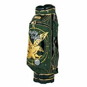 New Winwin Style Caddy Bag Cb-345 Premium Mighty Eagle Cart Bag Gold Ver. 9.0-in