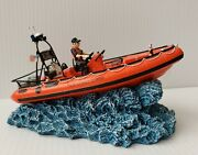 Anchor Bay Rigid Hull Inflatable Boat Ab114 2002 W/ Coa Harbour Lights