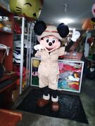 Mickey Mouse Safari Suit Mascot Costume Party Character Birthday Halloween Adult