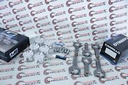 Cp-carillo Any Bore Any Cr Piston + Pro-h 3/8 Carr Rods For Toyota 1fz-fe