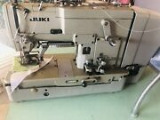 Juki Model Lbh-763 Eyelet Button Hole Sewing Machine Comes With Table