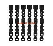 6 Pack/lot Tactical Tailor Fight Light Short Black Malice Clips Molle Kydex Otw