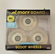 Morfboard Scooter Light Up Wheels New