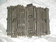 Large Lot Of Lionel O Gauge Track Straight Sections 42 Pieces