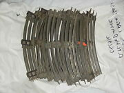 Large Lot Of Lionel O Gauge Track Curve Sections 20 Piece Lot