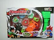 4d Metal Master Fusion Fight Beyblade Launcher Grip String Super Battle Toy Set