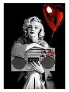 Mr Brainwash Happy Birthday To Me Marilyn Monroe Signed And Numbered Sold Out
