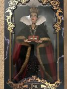 Disney Store Snow White Evil Queen Limited Edition Doll 17