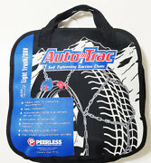 Auto-trac Tightening And Centering Winter Snow Tire Traction Chains