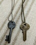 Vintage Key Necklaces {2} On Ball Chains