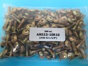 An525-10r10 Aircraft Structural Washer Head Phillips Screws 10-32 X 5/8andrdquo 200