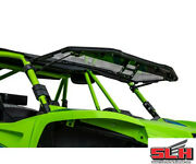 Clear Scratch Resistant Flip Up Windshield -textron Arctic Cat Tracker Off Road