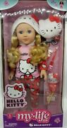 My Life Blonde Doll As Hello Kitty Doll And Accessories Nib, W/case For Assessorie