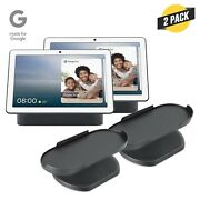 Google Nest Hub Max With Official Made For Google Adjustable Stand Bundle 2 Pack