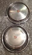 1974 75 76 77 78 Cadillac Eldorado Wheelcover Hubcaps Stainless Steel Set Of 2