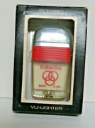 Ballantine Beer And Ale Pocket Scripto Vu-lighter With Box