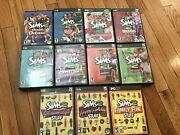 The Sims 2 Pc Lot - Sims 2, Sims 2 Pets, Holiday Edition, Open For Business, ++