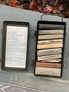 Rare Korean War 1952 Jeep First Aid Kit With Contents Ford Gpw Willys Mb G503